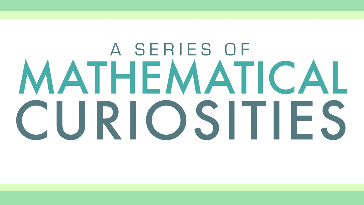 Math Curiosity: Magic Squares from Byrdseed TV