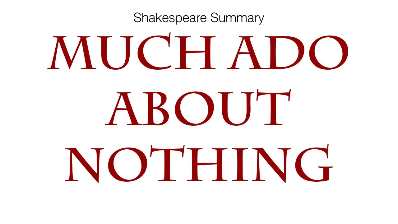 a play analysis of much ado about nothing 23 things we learned from joss whedon's 'much ado about nothing' commentary rob hunter october 10, 2013 the film (and the original play.