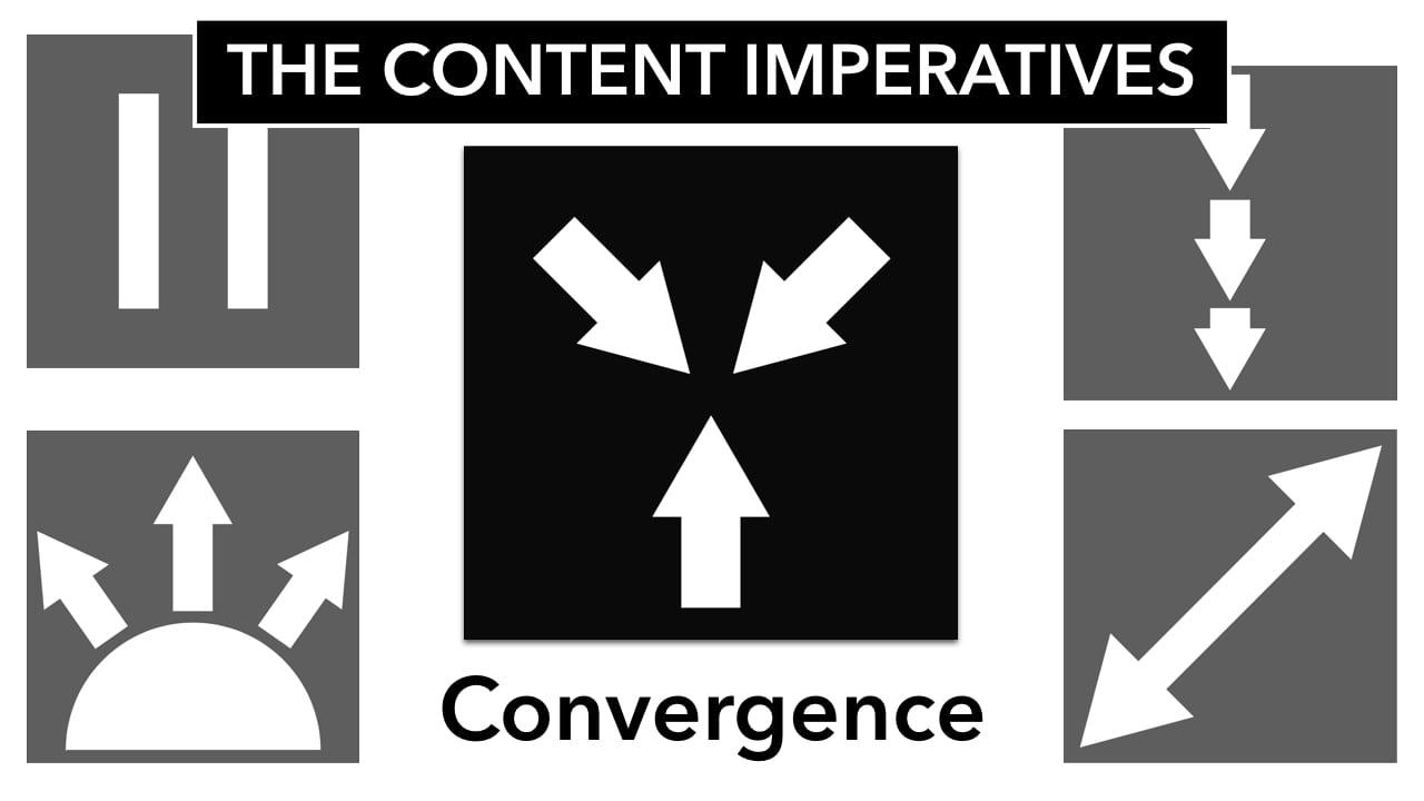 Content Imperative: Convergence