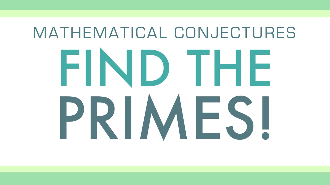 Math Curiosity: Primes and Squares from Byrdseed TV
